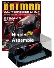 DC Batman Automobilia Collection #35 Batman And Robin Vol 2 #5 Batmobile Eaglemoss